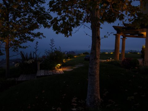 Agoura Landscape Lighting Pathways