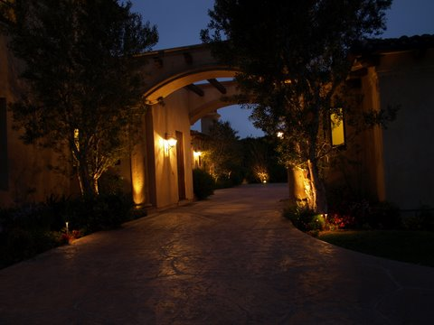 Agoura Landscape Lighting Modern Landscape Lighting