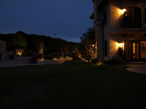 Agoura Landscape Lighting Patio Garden